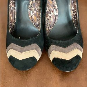 Missoni for Target suede block heel pumps, 6